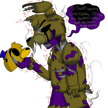 Ignited Springtrap by YaoiLover113