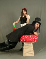 Dark alice and Mad hatter 11 by MajesticStock