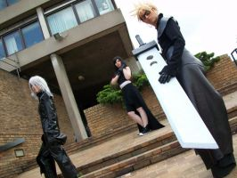 Final Fantasy Advent Children by KellyJane
