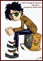 Collab Billie Joe Armstrong by Itbit