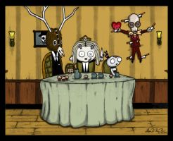 Lenore's Tea Party - Finished by Shadow-of-Desolation