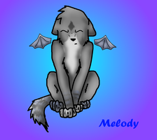 Melody- Wolf Furrie by Blackflash13