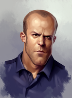 Jason Statham by sharandula