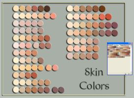 skin colors by 2BeanSoup