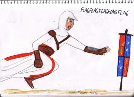 Altair, Flagophile by Driphtyr