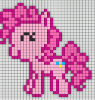 Pinkie perler pattern by paine86