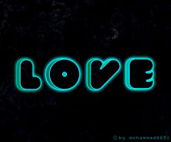 Neon Love by mohammed6651