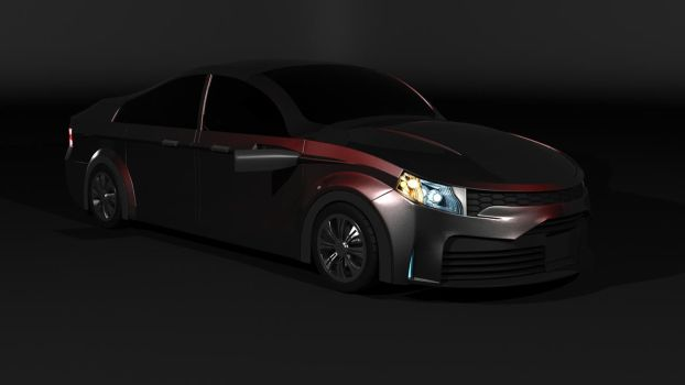 Custom automobile by Overmind5000