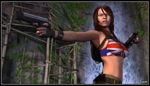 Amy - Tomb Raider by celticarchie