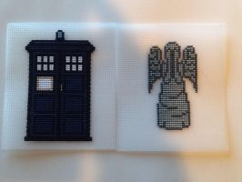 WIP - Doctor Who cube by princessmoodypants