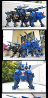 Zoids HMM Command Wolf and Shadow Fox by Dashster