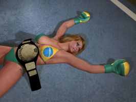 Beaten Luiza Allowed To Retain Belt by cpunch