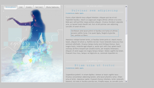 Blogspot template Endless sky by stupid-owl