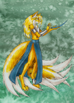 Miles Prower: Ninetails by WingedHippocampus