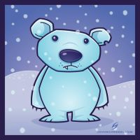 polar bear by fizzgig