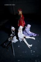 4 dolls in Rozen Maiden by ShineUeki33