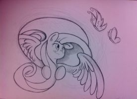 Fluttershy A2 size 2014 by otto720