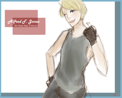 Alfred F. Jones by Mellothis