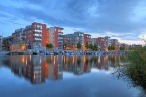 Sea City at Dusk III by HenrikSundholm