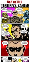 LoK Rap Battle: Tenzin Vs. Zaheer by Neodusk