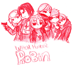 Witch Hunter Robin Cast by CLDaishi