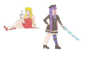 Panty and Stocking by DoctorEvil06