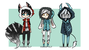 Hoodie adopts -taken- [auction] by Voodoo-Elf