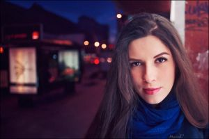 Bus Station Girl 2 by marius-ilie