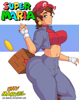 Super Maria by Jay-Marvel