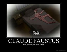 Claude Faustus Demotivational by ArAnCaR-No-6