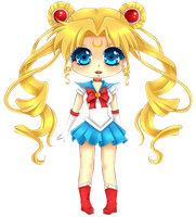 Sailor Moon - Chibi by Tish-Marie