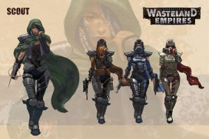 Wasteland Empires: Scout 2 by ArtofTu