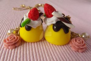 Pudding Love Necklace by AngelicLight100