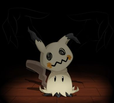 .:Mimikyu:. by BloomPhantom