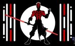 Sith and no Shirt by Bicaecub