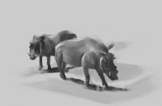 Hogs Value Sketch by UntoldPromises