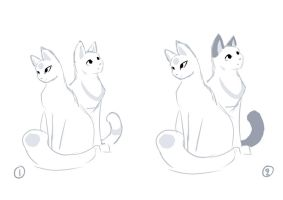 Kitties character concept by Roxo89