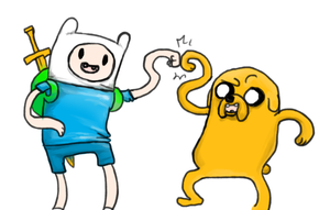 Adventure Time by LeWalou