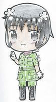 Hetalia Philippines OC Chibi by A-Nicole-A