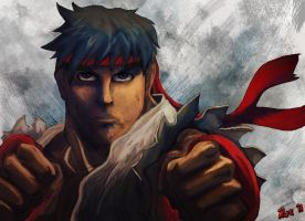 Ryu Focused by Rueprez