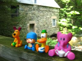 Pocoyo and Friends: StoneHouse by joshmb509