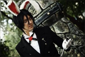 Ciel in Wonderland: White Rabbit by general-kuroru