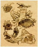 Hand Fishes by MisterBlackwood