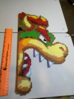 Bowser  Perler Bead Art by vudumonkey25