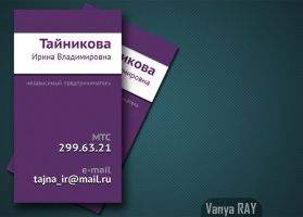 Business-card02 v1 by VanyaRAY