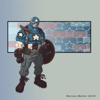 Captain America by marcusmuller