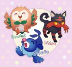 Pokemon starters by longestdistance