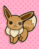 Eevee from Pokemon by siristar