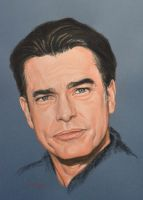 Peter Gallagher full portrait 'Heforshe' by Andromaque78