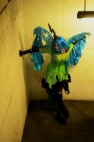 Queen of the Changelings/ Chrysalis Cosplay MTAC by JapanCandys